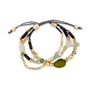 NWT Adjustable beaded bracelet